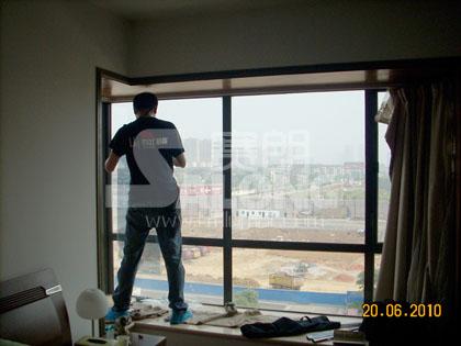 大溪地3期6栋建筑玻璃隔热膜