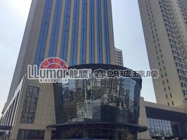 宿州汇金广场农行玻璃防爆膜工程